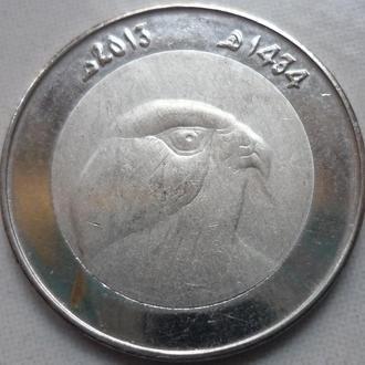 Алжир 10 динаров 2013 фауна состояние в коллекцию