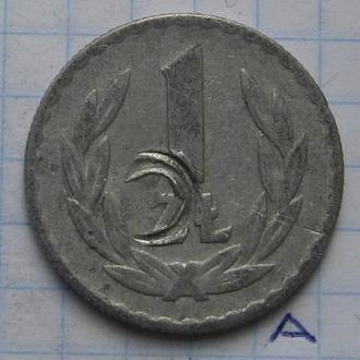 ПОЛЬША 1 злотый 1974 года