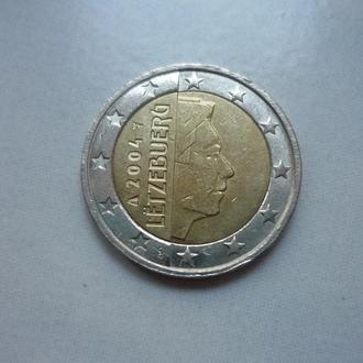 Люксембург 2 евро 2004