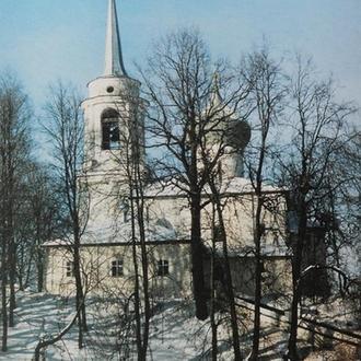Открытка. Святогорский монастырь.