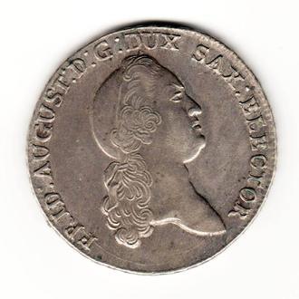Талер 1778 р, Саксонія