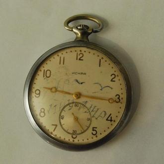 часы ИСКРА большие в коллекцию!