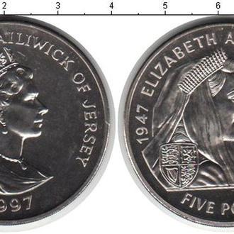 ДЖЕРСИ 5 ФУНТОВ 1997