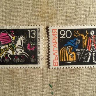 марки- с 1 гр Болгария--(А3) - гашеные--1988г