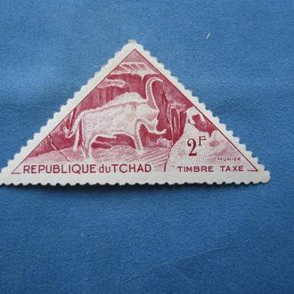 Чад фауна 1962 год