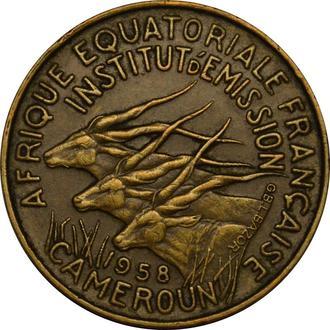 Камерун 5 франків 1958  #296