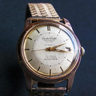 Часы--CRISTAL WATCH - Automatic Rotor 30 Jewel . Швейцария.