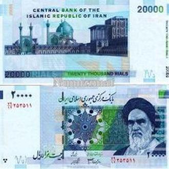 Иран 20000 риал 2005 UNC