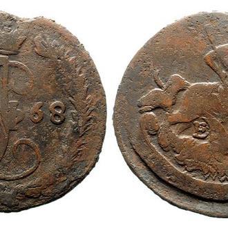 Денга 1768 года №3709
