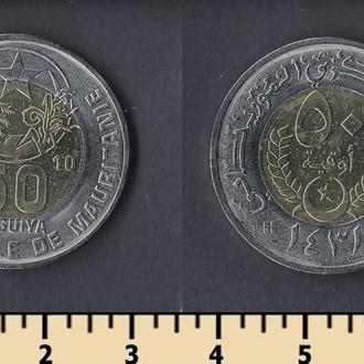 Мавритания 50 угий 2010