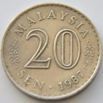 (А) Малайзия 20 сен 1987