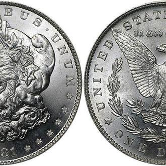 Монета 1 долар Сша Морган з 1881 року