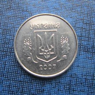 монета 1 копейка Украина 2007
