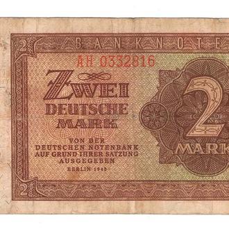 Германия 2 марки 1948