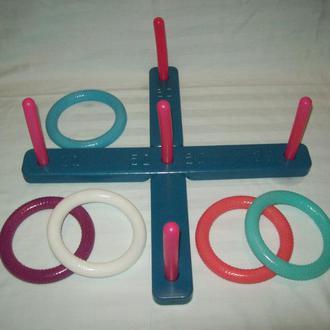 Игра игрушка кольца кольцеброс накинь кольцо СССР оригинал клеймо