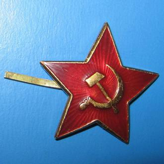 Звезда-кокарда СССР.