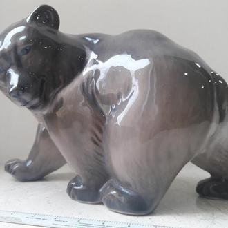 медведь, Royal Copenhagen, Дания.