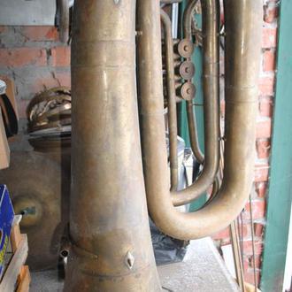 Туба, бас. Труба музична в гарному стані (або з мундштуком +100грн)