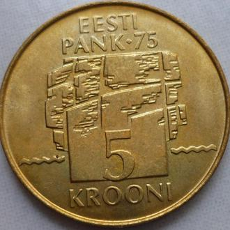Эстония 5 крон 1994 юб. состояние