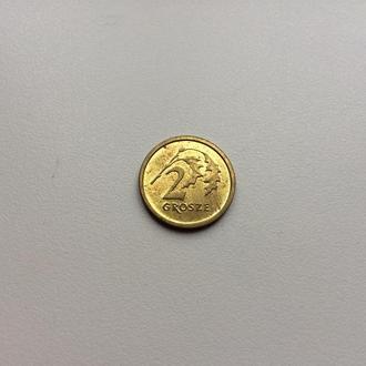 Польша 2 гроша 2014