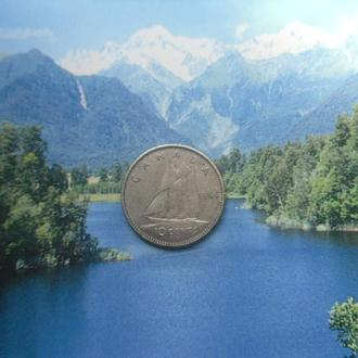Канада 10 центов 1966 года