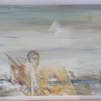 """Картина маслом Александр Добродий """"Викрадення"""" 1998 г."""