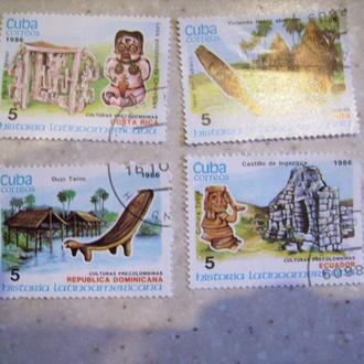 Куба 1986 (5 марок)