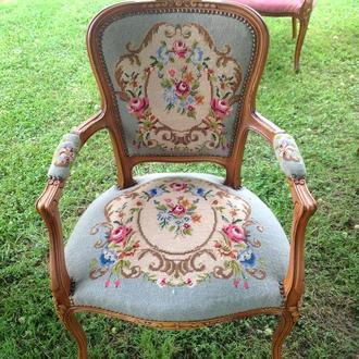Кресло вышивка гобелен Германия