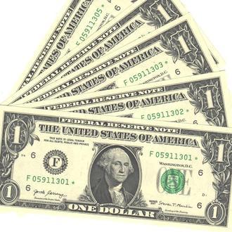 1 доллар США замещение* 2017 г. в UNC из пачки