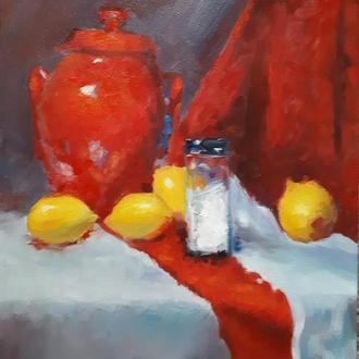Лимонный натюрморт