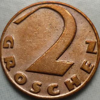 Австрия 2 гроша 1929