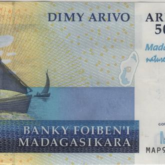 Мадагаскар 5000 Ариари 2007(2012) г. в UNC из пачки