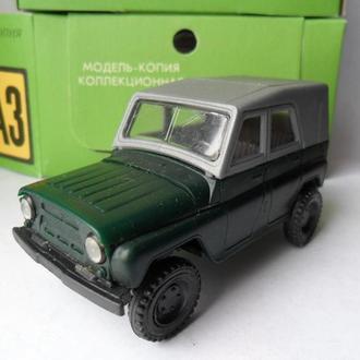 Модель автомобиля УАЗ 469, 469 М СССР 1:43 Херсон с коробкой