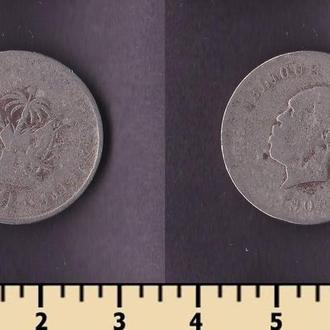 Гаити 10 сентимов 1906
