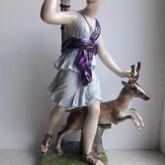 LIMOGES Диана с оленем Франция