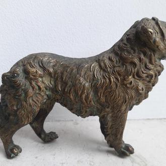 Венская бронза   собака клеймо  gecshtuzt