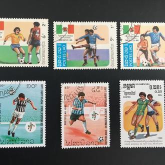 Почтовые марки Лаос 19