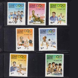 ЛОИ .  Гвинея Биссау 1983 г MNH - США
