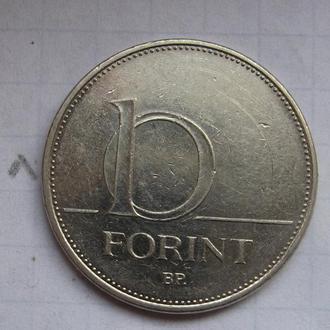 ВЕНГРИЯ, 10 форинтов 2007 г.