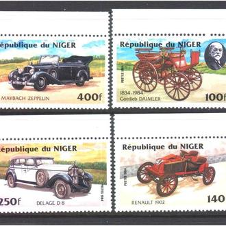 Транспорт / Техника . Нигер 1984 г MNH - авто