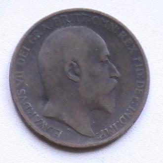 1 Пенни 1910 г Великобритания 1 Пенні 1910 р Великобританія
