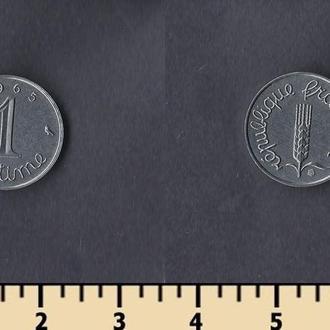 Франция 1 сантим 1965