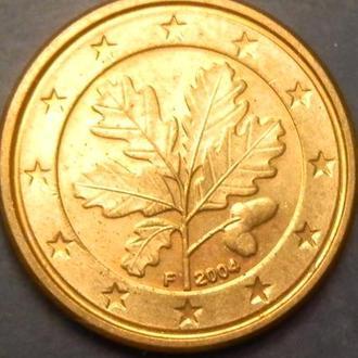 1 євроцент 2004 F Німеччина