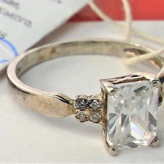 Кольцо перстень новый серебро 925 проба размер 17,5 вес 2,06 гр.