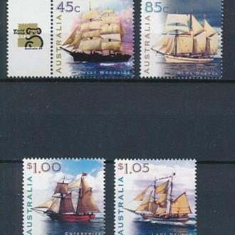 Австралия корабли MNH