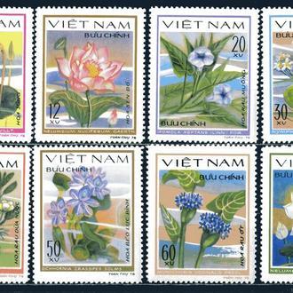 Вьетнам. Цветы (серия) 1980 г.**