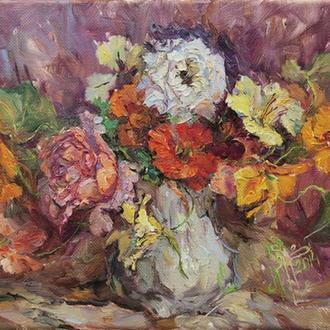 Натюрморт «Розы» (3). Бражник Е.