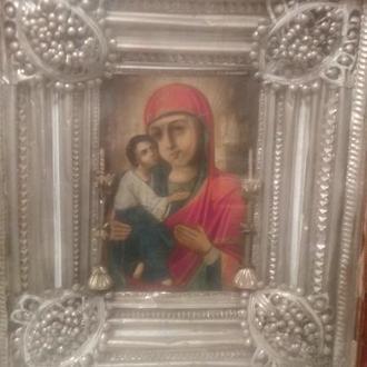 Икона Дева Мария Владимирская и Икона Исус Христос