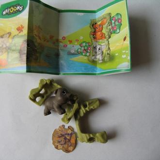 Животные в домике медведь SE001 + вкладыш