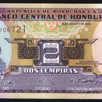 Гондурас (2004) 2 лемпиры. UNC